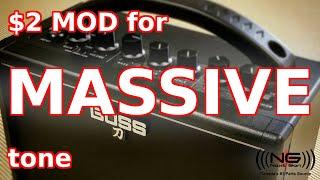 Boss Katana Mini - $2 Mod for MASSIVE Tones