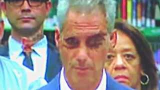 erschrecken klar erkennbar: Reptiloides Wesen Chicago Mayor Rahm Emmanuel's Demon Eye