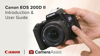 01. Canon EOS 200D Mark II Tutorial – Introduction & User Guide