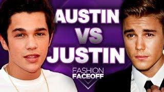 Justin Bieber vs Austin Mahone: Best Style?? - Fashion Faceoff Guys Edition 2014