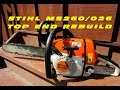 Top End Rebuild On Stihl MS260 Chainsaw With Force Tec Cylinder Kit