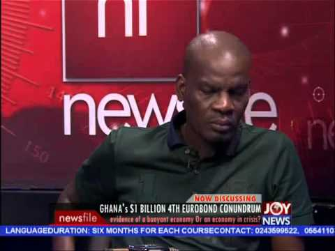 Ghana's $1 Billion 4th Eurobond - Newsfile on Joy News (10-10-15)