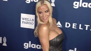 Gigi Gorgeous, Nats Getty at 29th Annual GLAAD Media Awards Red carpet
