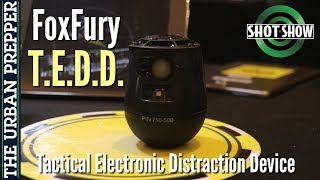 FoxFury T.E.D.D.: Tactical Electronic Distraction Device | Shot Show