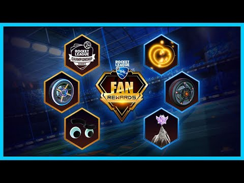 RLCS Stream Fan Rewards - Ingame iTems als Twitch Belohnung! Rocket League  (German)