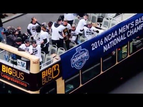 Villanova Championship Parade in Philadelphia, Pennsylvania