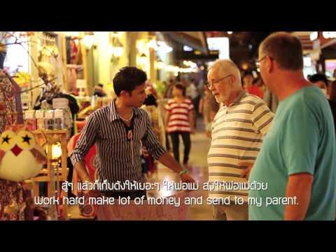 สารคดีเพื่อนข้างบ้าน Myanmar in love in Bangkok