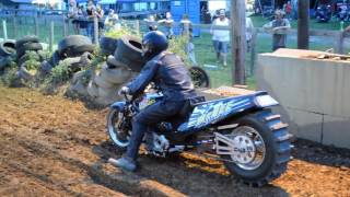 "Top Fuel Motorcycle Dirt Drags ""Dirt outlaws"" BBDR"