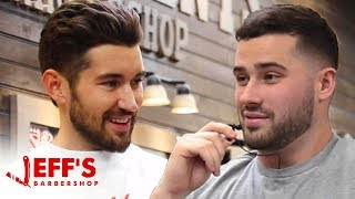 MEETING MY LONG LOST TWIN BROTHER? | Jeff's Barbershop ft. Joe Santagato