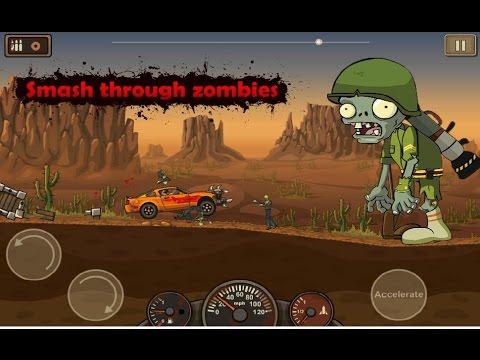 Давим зомби на реактивной военной машине | Проходим полностью игру зомби машины  |  Earn To Die