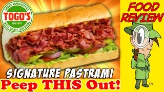 Togo's® | Signature Pastrami Sandwich Review! Peep THIS Out!