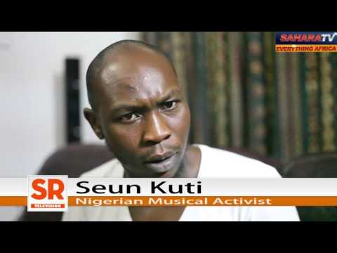 Seun Kuti On Fuel Hike, Occupy Movement, Labour And Buhari's Anti-Corruption Policy