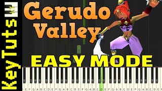Learn to Play Gerudo Valley from Legend of Zelda - Easy Mode