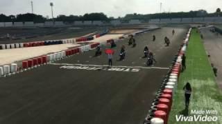 Dợt xe PKL ở trường đua môtô Đại Nam tại Bình Dương