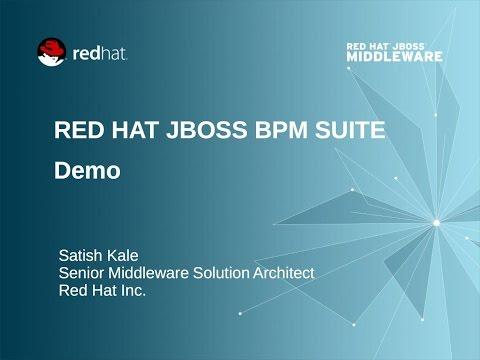 JBoss BPM Suite Demo - By Satish Kale - 480px