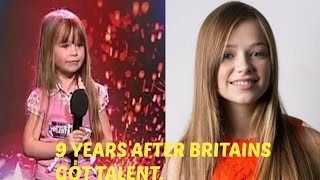 9 YEARS AFTER BRITAIN'S GOT TALENT(Age 6 to 15) - Connie talbot