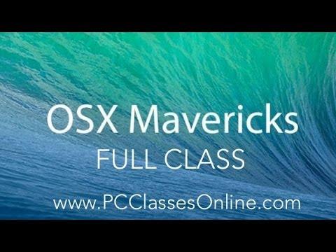 OSX Mavericks - FULL CLASS