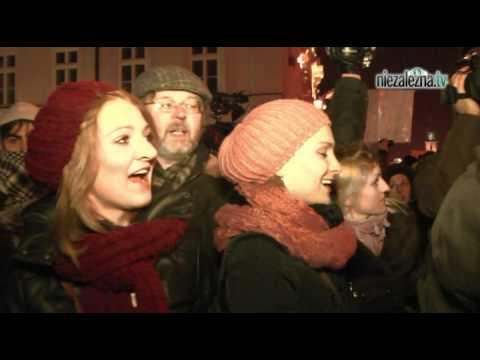 """TV jaja - Nie dla ACTA, Palikot """"wygwizdany"""""""