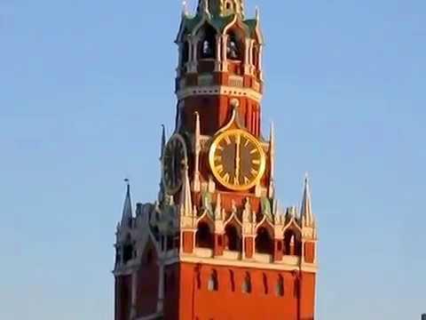 Спасская башня, Красная площадь._Kremlin-Moskva-RUSSIA