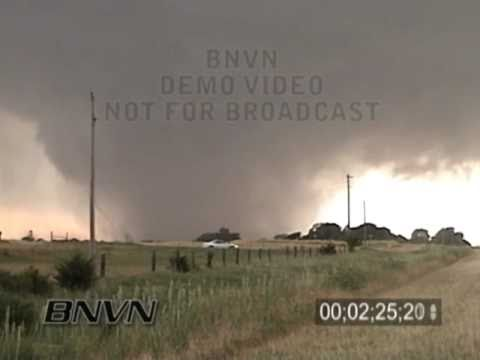 5/29/2004 Harper County Kansas Wedge Tornado Video