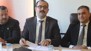 MHP Tosya Belediye Başkan Adayı Volkan Kavaklıgil Basın Açıklaması