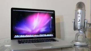 New MacBook Pro 15 Unboxing Quad-Core i7 (Early 2011)  HD