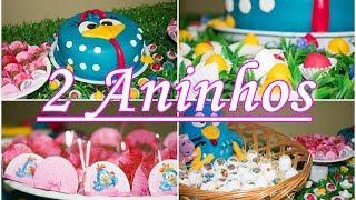 Idéias para festa infantil galinha pintadinha/Anna Laura 2 aninhos//Por Cristiany Melo