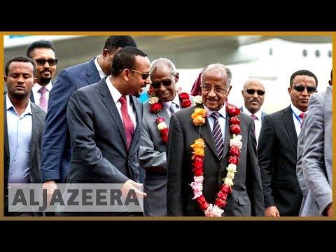 Delegation delegation Une délégation érythréenne arrive en Ethiopie avant les pourparlers thumbnail