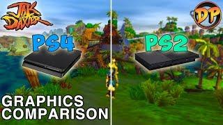Jak and Daxter - PS2 vs. PS4 Graphics Comparison