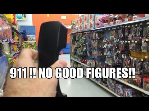 CALL 911! NO GOOD WWE WRESTLING FIGURES at Walmart! Toy Hunt Prank Calls!