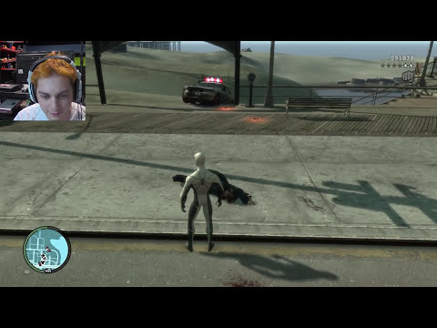 SpiderMan Powers in GTA 4 (mods)