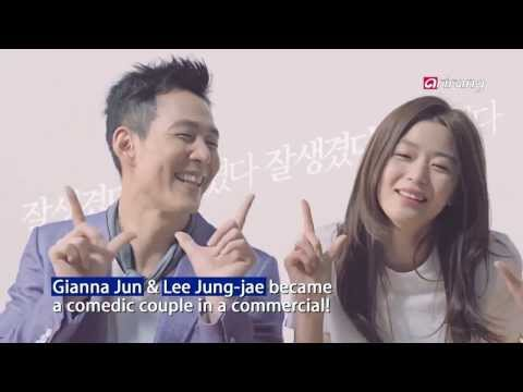 Showbiz Korea - LEE JUNG-JAE & GIANNA JUN SHOW COMEDIC QUALITIES IN