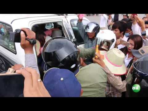 Land Protesters Banned from Petitioning to Prime Minister Hun Sen