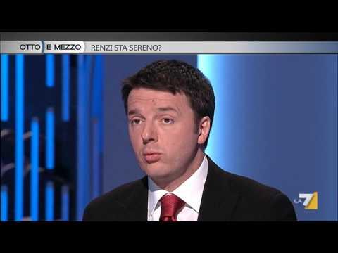 Otto e mezzo - Renzi sta sereno? (Puntata 03/04/2014)