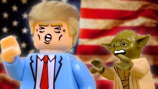 Day 5: Yoda Meets President Trump | Lego Star Wars Stop Motion Short