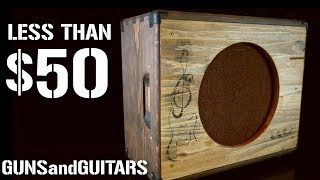 Build your DREAM guitar cabinet for LESS THAN $50!!!