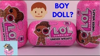 LOL Surprise Series 4 Wave 2 is HERE! BOY DOLL FOUND! Amazon order opening