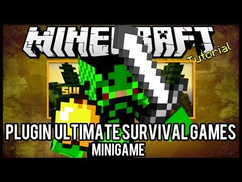 [Tutorial]Ultimate Survival Games - Minigame Minecraft