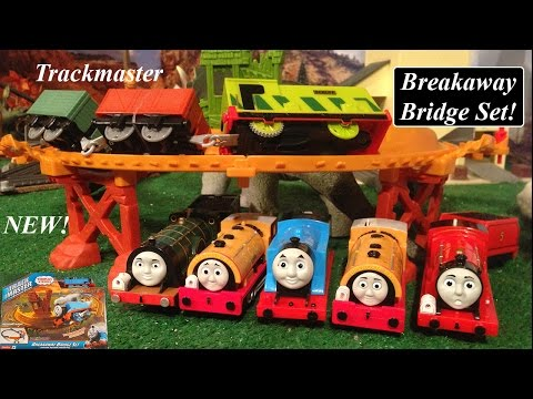 Thomas & Friends Toy Train Review-Trackmaster Breakaway Bridge Set!