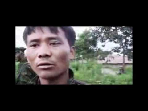 Burmese Army POW in Kachinland 1.flv