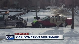 Couple warns about car donation nightmare