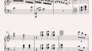 Etude en ré mineur pour piano