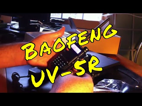 The UV-5R ham radio