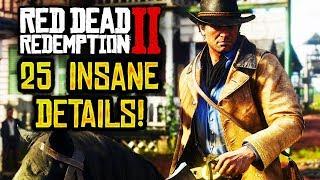 25 INSANE Details in Red Dead Redemption 2! (RDR2)