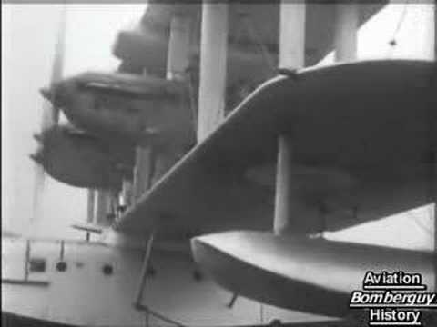 C.O.W. 37mm cannon fitted to Blackburn Perth flying boat