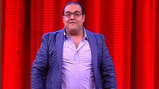 ثلاثى ضوضاء الحياة - أضحك علي معجب مينا نادر في حفلة عمرو دياب بعد أول حلقة للبرنامج