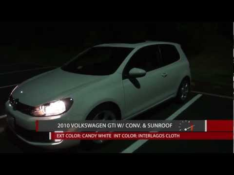 2010 Volkswagen GTI 6MT One Month Review, Night Drive