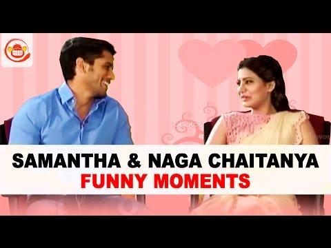 Samantha & Naga Chaitanya Funny Moments through out - Exclusive
