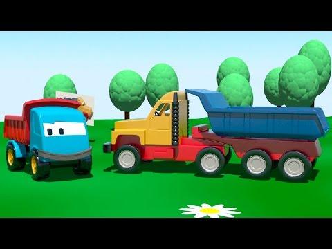 Leo e il grosso camion – grosse macchine per bambini piccoli