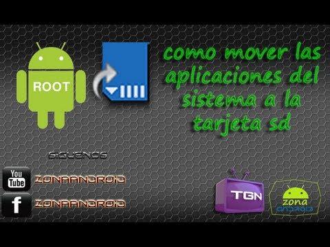 como mover las aplicaciones del sistema a la sd en el motorola xt303 facebook y youtube